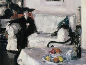 Interior with Figure, 1914-15 by Francis Campbell Boileau Cadell