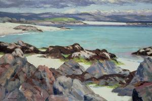 Iona, the East Bay, 1928 by Francis Campbell Boileau Cadell