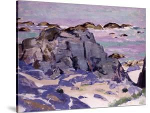 Lunga from Above Mermaids, Iona by Francis Campbell Boileau Cadell