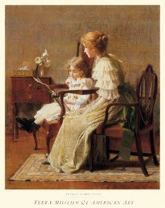 Mother and Child, c.1885 by Francis Coates Jones