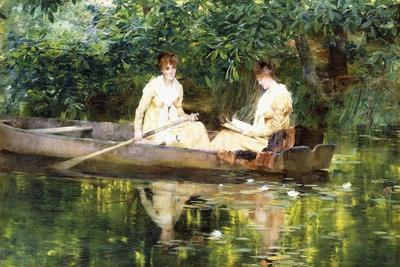 Women in a Rowboat