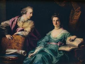 'Isabel and Thomas Crathorne', 1767 by Francis Cotes