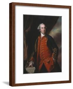 Lieutenant Colonel William Phillips (1731-81) 1764 by Francis Cotes