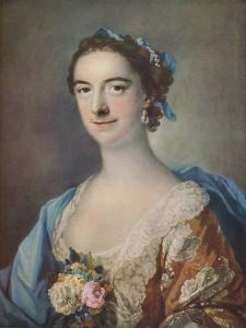 'Mrs Thomas Cripps', 1759 by Francis Cotes