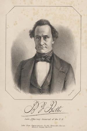 B.J. Butler, 1840