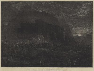 A Mountain Chief's Funeral in Olden Times by Francis Danby
