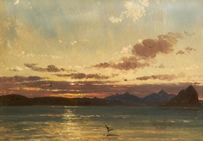 Isle of Arran, C.1840-75 by Francis Danby
