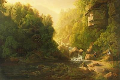The Mountain Torrent, C.1820-30 by Francis Danby