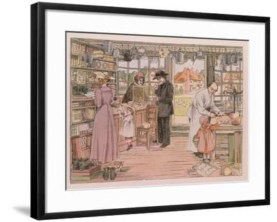"""The General Store, from """"The Book of Shops,"""" 1899"""