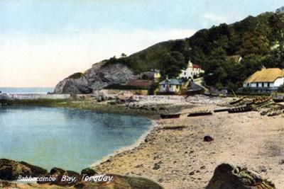 Babbacombe Bay, Torquay, Devon, 20th Century