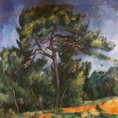 Tall Pine by Paul Cezanne