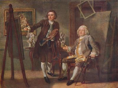 Robert Walpole, First Earl of Orford, K.G., in the Studio of Francis Hayman, R.A.', c1748-1750