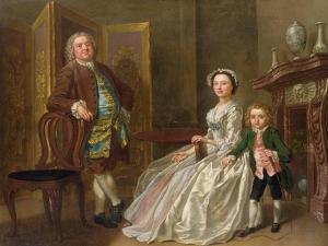 The Bedford Family, also known as the Walpole Family by Francis Hayman