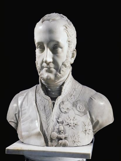 Francis I of the Two Sicilies Bust--Giclee Print