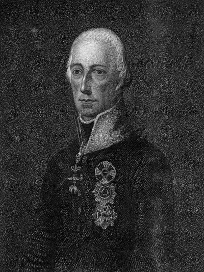 Francis II, Holy Roman Emperor, 1814--Giclee Print