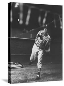 Chicago White Sox Player, Gerry Staley in Action by Francis Miller