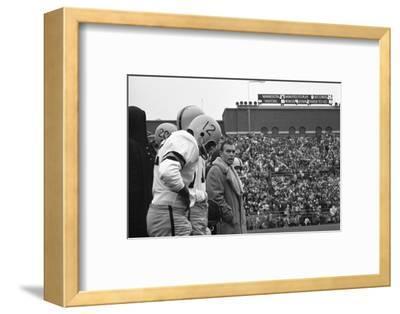 Coach Murray Warmath, Minnesota- Iowa Game, Minneapolis, Minnesota, November 1960