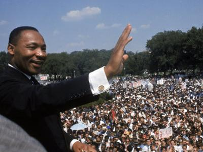 "Dr. Martin Luther King Jr. Giving ""I Have a Dream"" Speech During the March on Washington by Francis Miller"