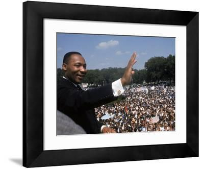 "Dr. Martin Luther King Jr. Giving ""I Have a Dream"" Speech During the March on Washington"