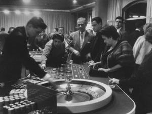 Gambling Casino by Francis Miller