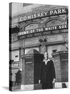 New Owner of the Chicago White Sox Bill Veeck by Francis Miller