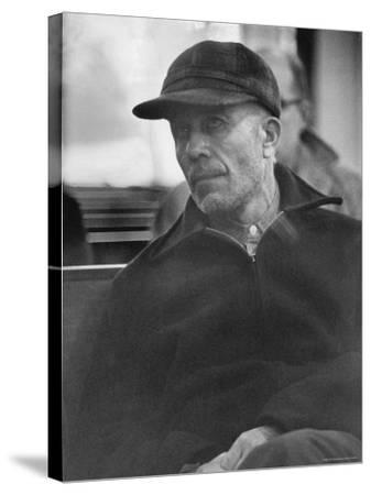 Portrait of Ed Gein, Alleged Mass Murderer