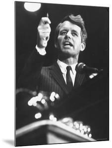 Senator Robert F. Kennedy Speaking at the University of Mississippi by Francis Miller