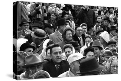 Spectators at the Minnesota- Iowa Game, Minneapolis, Minnesota, November 1960
