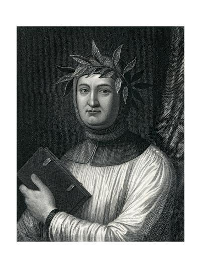 Francis Petrarch, 19th Century--Giclee Print
