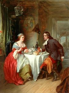 The Repast, 1788 by Francis Phillip Stephanoff