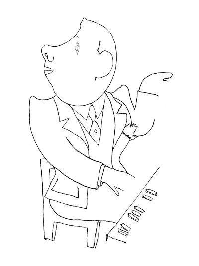 Francis Poulenc (1899-1963)-Jean Cocteau-Giclee Print