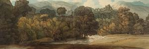 A View at Ambleside by Francis Towne