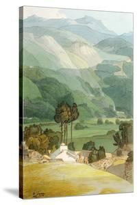 Ambleside, 1786 (W/C with Pen and Ink over Graphite on Laid Paper) by Francis Towne