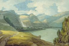 Ambleside, 1786 (W/C with Pen and Ink over Graphite on Laid Paper)-Francis Towne-Giclee Print
