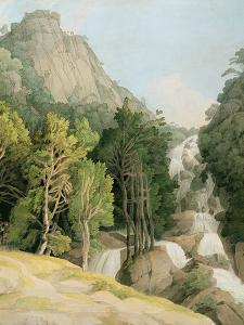 Lodore Falls by Francis Towne