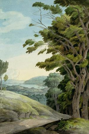 View from Rydal Park by Francis Towne
