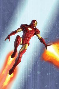 Iron Man & The Armor Wars No.3 Cover: Iron Man by Francis Tsai
