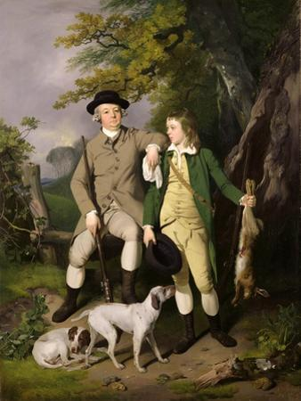 Portrait of a Sportsman with His Son, 1779 by Francis Wheatley