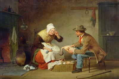 Bargaining (The Christmas Turkey) C.1858