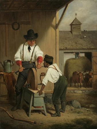 The Scythe Grinder, 1856