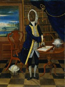 Francis Williams the Jamaican Mathematician and Poet, English c.1745