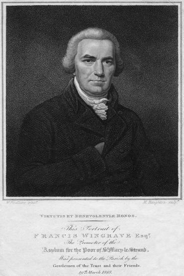 Francis Wingrave (C1789-182), 1818-Moses Haughton-Giclee Print