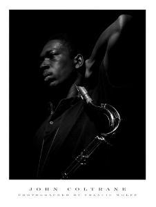 John Coltrane by Francis Wolff