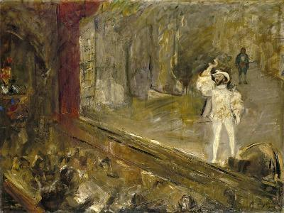 Francisco D'Andrade as Don Giovanni in Mozart's Opera-Max Slevogt-Giclee Print