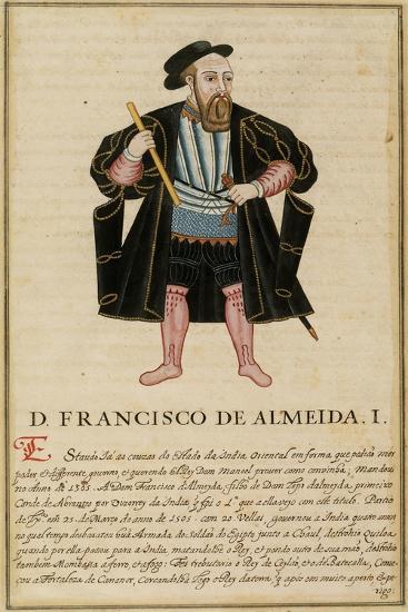 Francisco De Almeida--Giclee Print