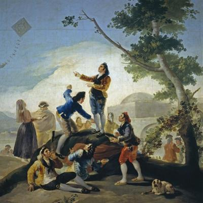 A Kite (La Comet), 1778 by Francisco de Goya