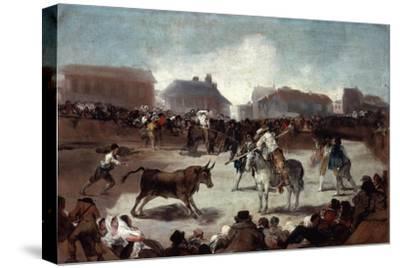 A Village Bullfight, C1812-1814