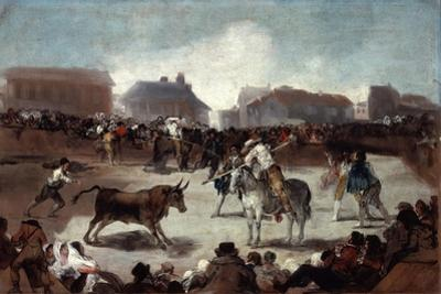 A Village Bullfight, C1812-1814 by Francisco de Goya
