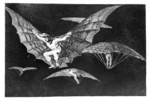 A Way of Flying, 1819-1823 by Francisco de Goya