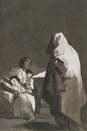 Al Conde Palatino, from Los Caprichios, 1797-1798 by Francisco de Goya